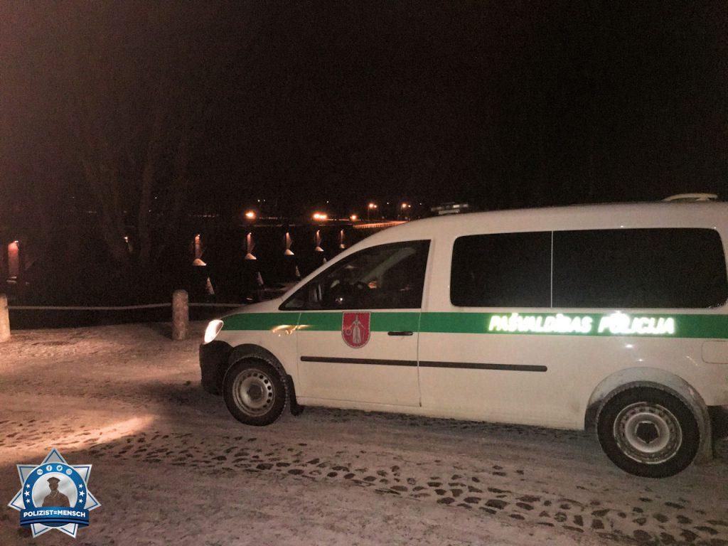 """""""Grüße aus dem Nachtdienst in Kuldiga (Lettland), Vilnis"""""""