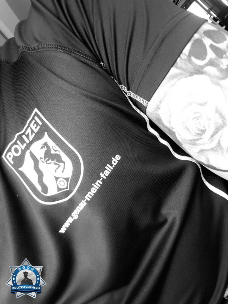 Auch beim Sport stolz das Wappen zu tragen
