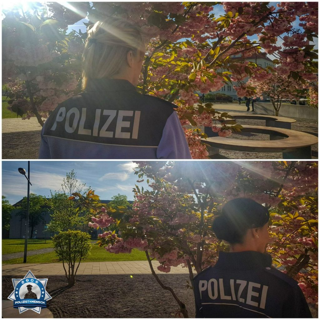 """""""Wir senden sonnige Grüße aus der Fachhochschule der Polizei Sachsen-Anhalt. Liebe Grüße von Jana und Tina"""""""