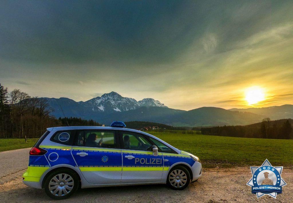 """""""Servus, schöne Grüße von der österreichischen Grenze von der Bundespolizeiinspektion Freilassing."""""""