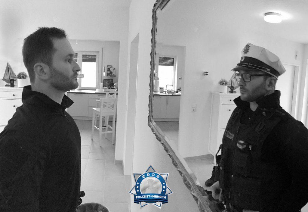 Polizist=Mensch: Hier von Roman perfekt in Szene gesetzt 👌