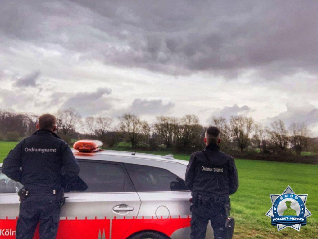 """""""Wir wünschen allen Kollegen bei der Polizei und beim KOD später eine ruhige Nacht. Grüße aus Köln vom Spätdienst!"""""""