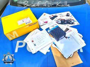 Brief für Kalle: Überwältigend viele und schöne Meldungen