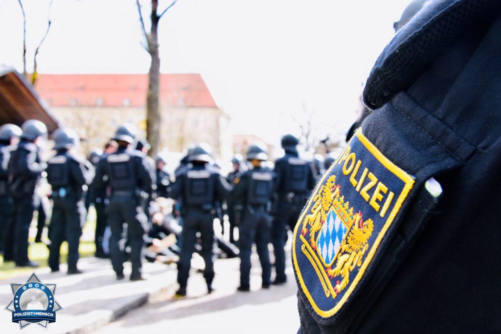 1. Mai: Bayerische EH ist in Sachsen im Einsatz