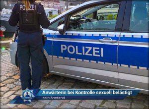 Kein Anstand: Polizeianwärterin bei Kontrolle sexuell belästigt