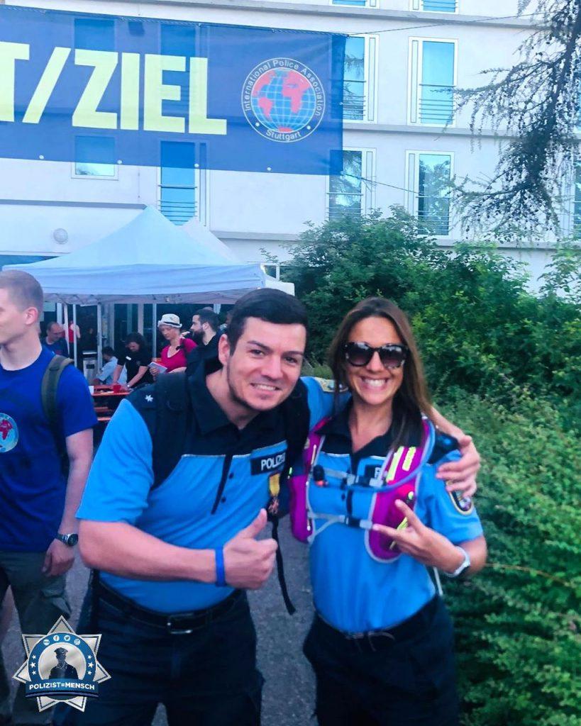 """""""Liebe Grüße vom IPA Marsch 2019 aus Stuttgart von Melanie und Martin aus Sachsen-Anhalt"""""""