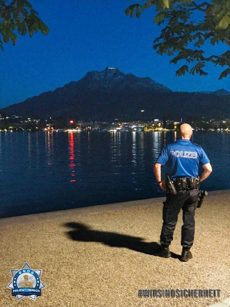 """""""Die Ruhe vor einer stürmischen Nacht. Liebe Grüsse aus Luzern (Schweiz), Patrick"""""""