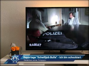 """Gedanken einer Polizistin: Reportage """"Scheißjob Bulle"""" - Ich bin schockiert"""