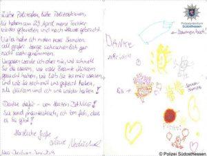 """""""Schönste Momente im Polizeiberuf"""": Mutter bedankt sich nach erfolgreicher Vermisstenfahndung bei den Polizisten"""