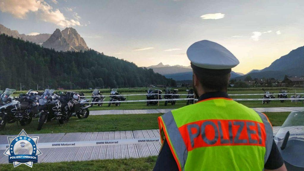 """""""Schöne Grüße von den BMW-Motorraddays in Garmisch-Partenkirchen - Baldi - BePo Bayern"""""""