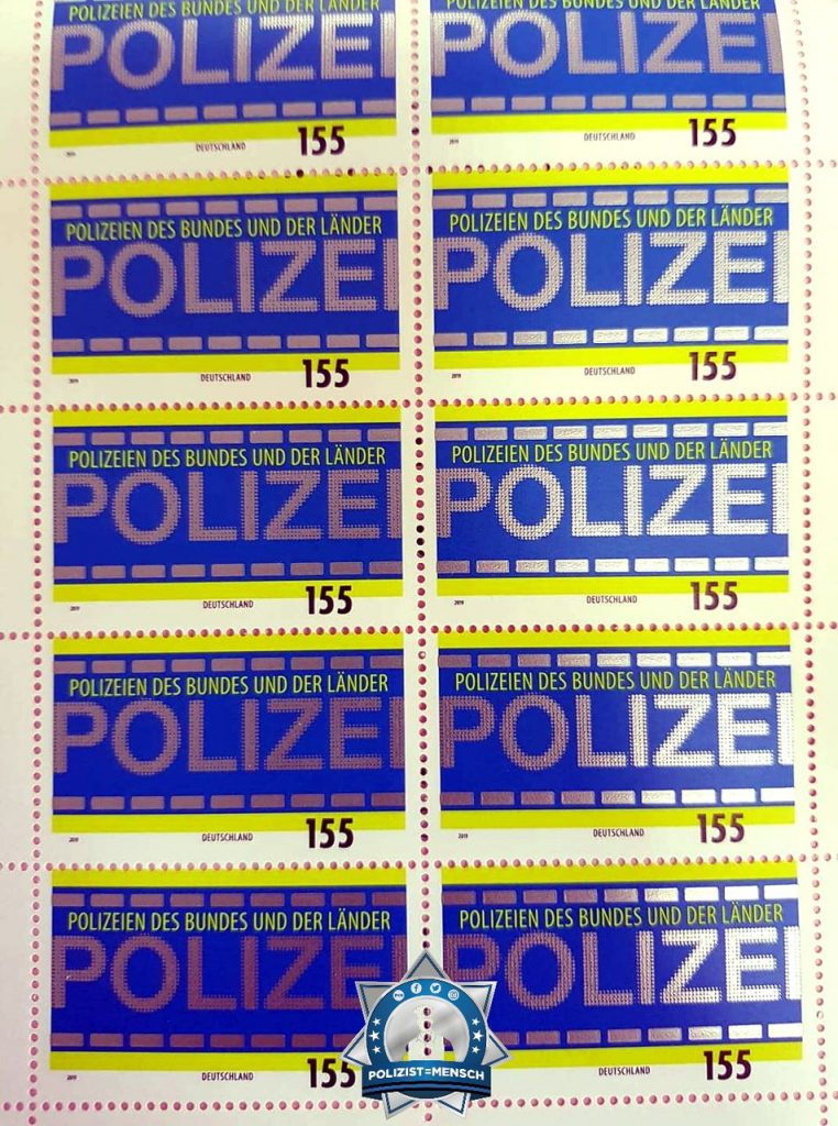 Sonderbriefmarke: Post von der Polizei?