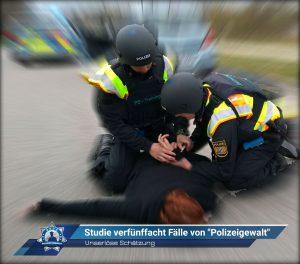 """Unseriöse Schätzung: Studie verfünffacht Fälle von """"Polizeigewalt"""""""