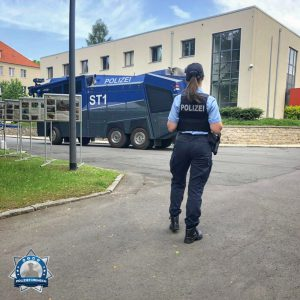 Instagramkanal: Polizeimeisteranwärterin Linda von der Polizei Sachsen-Anhalt
