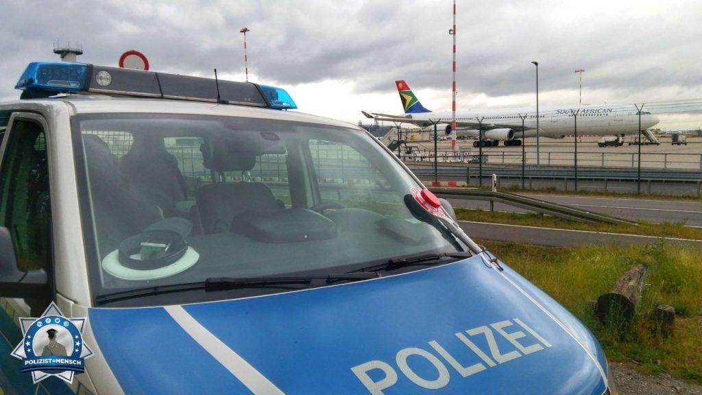 """""""Liebe Grüße vom Flughafen Frankfurt von Malte und Pascal 🙂 Allen Kolleginnen und Kollegen einen ruhigen und sicheren Dienst!"""""""