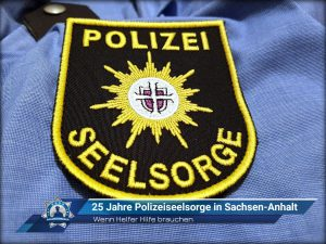 Wenn Helfer Hilfe brauchen: 25 Jahre Polizeiseelsorge in Sachsen-Anhalt