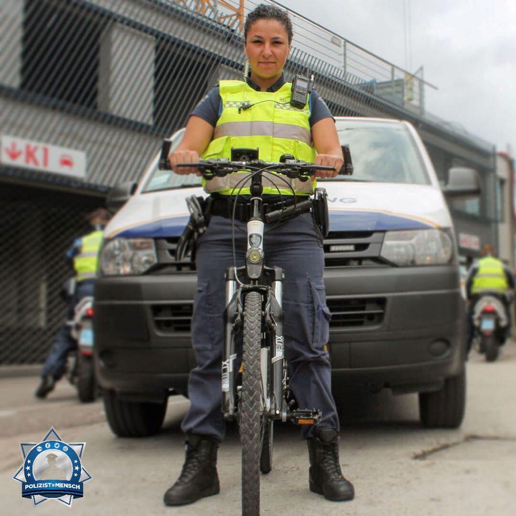 """""""Polizistin zu werden ist nicht einfach nur eine (Berufs-) Wahl, es ist etwas, wozu du geboren wurdest. Grüße aus Utrecht, Elisha"""""""