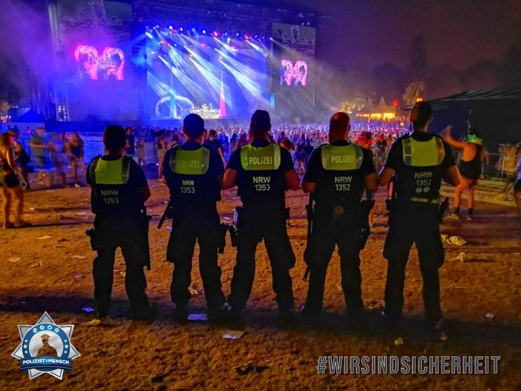 """""""Juicy Beats Festival 2019 in Dortmund. Es war ein toller Einsatz mit vielen entspannten und netten Gästen. Hat Spaß gemacht mit euch zu 'feiern'! Viele Grüße vom stabilen dritten Alarmzug!"""""""