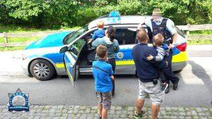 Polizisten haben unseren Kindern die Angst genommen