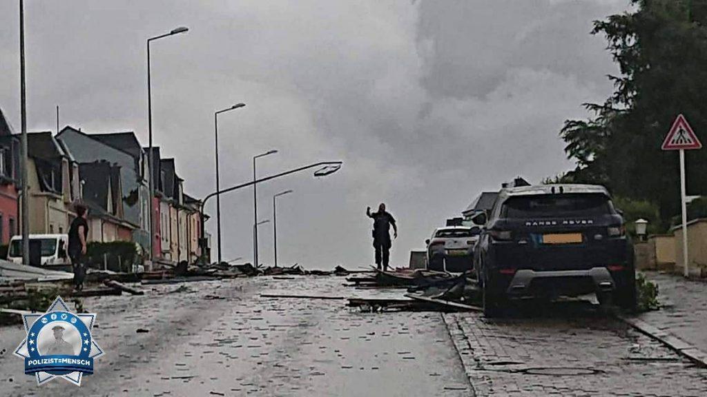 Im Auge des Sturms: Tornado fegt durch Luxemburg