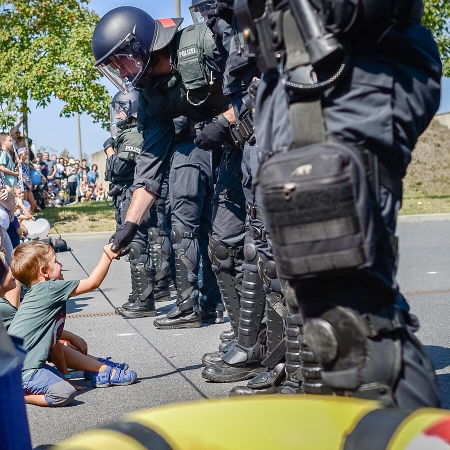 Tag der offenen Tür: Polizei zum Anfassen