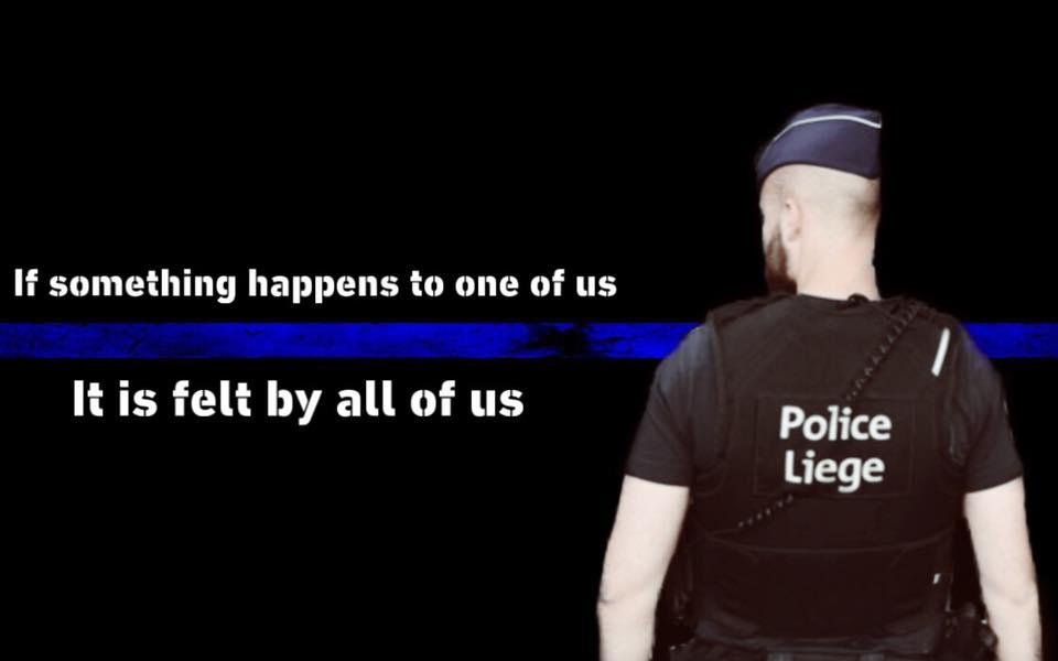 Die Polizeifamilie hält zusammen ⚫️🔵⚫️