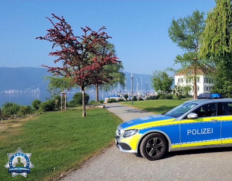 """""""Grüße vom schönen Bodensee... allen Kollegen eine ruhige Schicht 🍀 LG Dominique"""""""