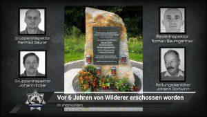 In memoriam: Vor sechs Jahren von Wilderer erschossen worden