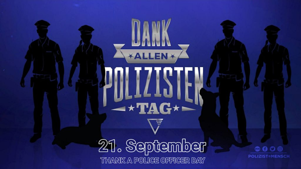 Dank-allen-Polizisten-Tag 2019 (Thank a Police Officer Day)