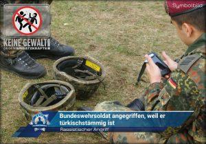 Rassistischer Angriff: Bundeswehrsoldat angegriffen, weil er türkischstämmig ist