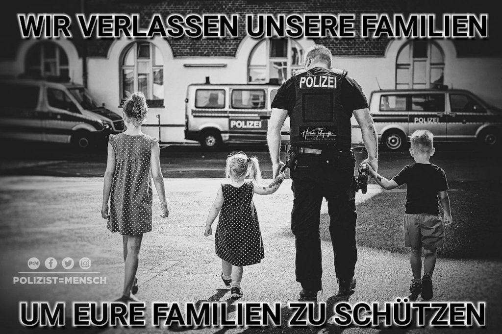 Wir verlassen unsere Familien, um eure Familien zu schützen...