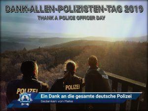 Gedanken von Maike: Ein Dank an die gesamte deutsche Polizei