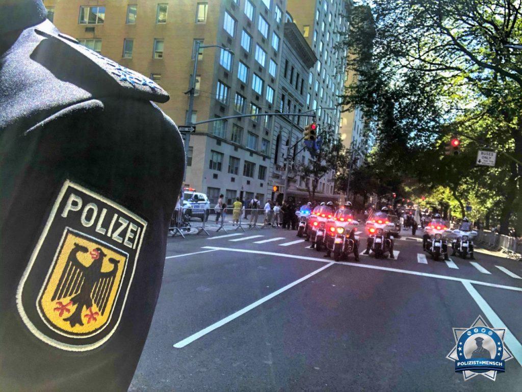 Gruß von der Steubenparade des NYPD