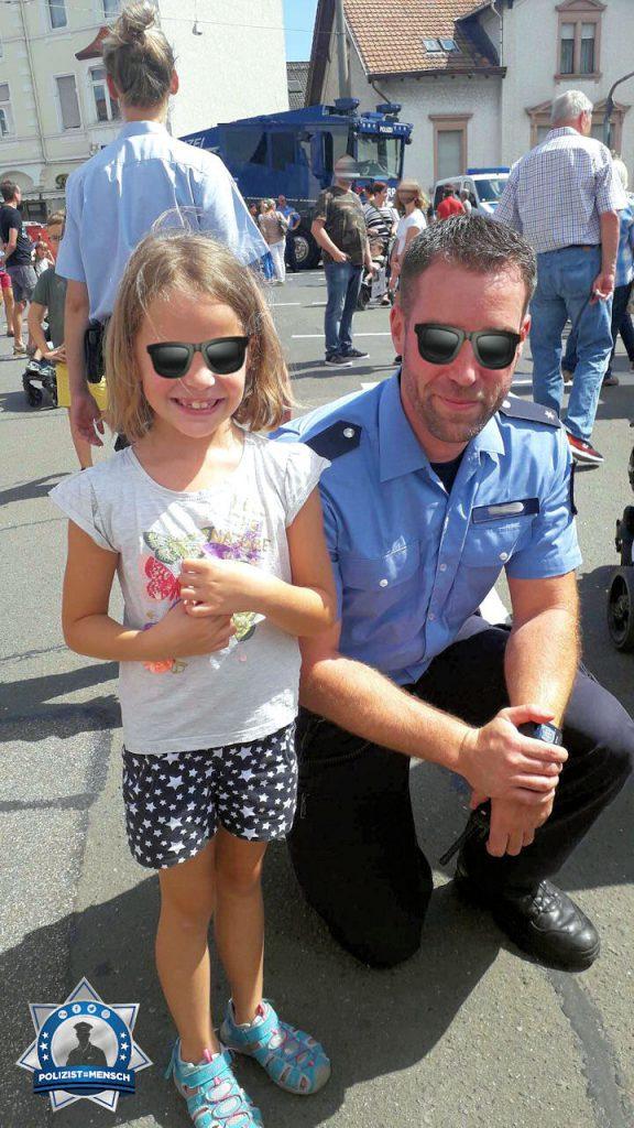 Meine Tochter möchte schon seit sie 2,5 Jahre alt ist Polizistin werden
