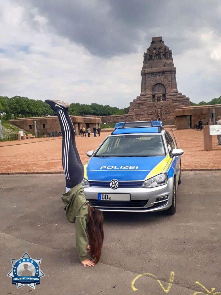 Während meines Praktikums bei der Polizei stand ich Kopf