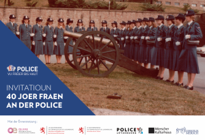 Ausstellung: 40 Jahre Frauen bei der Polizei