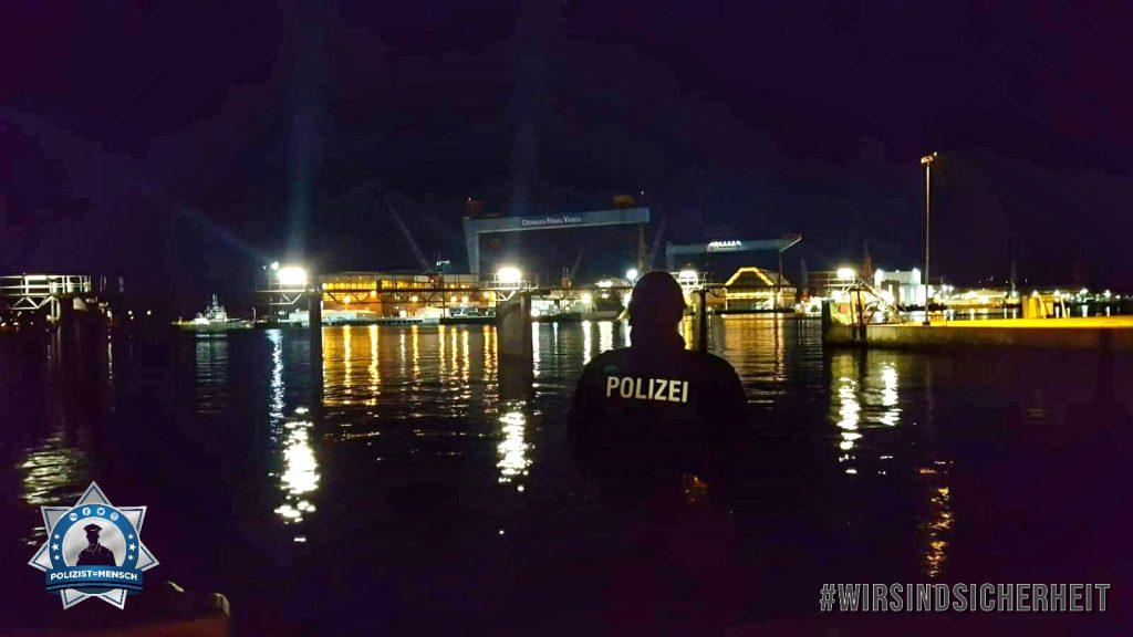 Wir sind Sicherheit auf dem Tag der Deutschen Einheit in Kiel