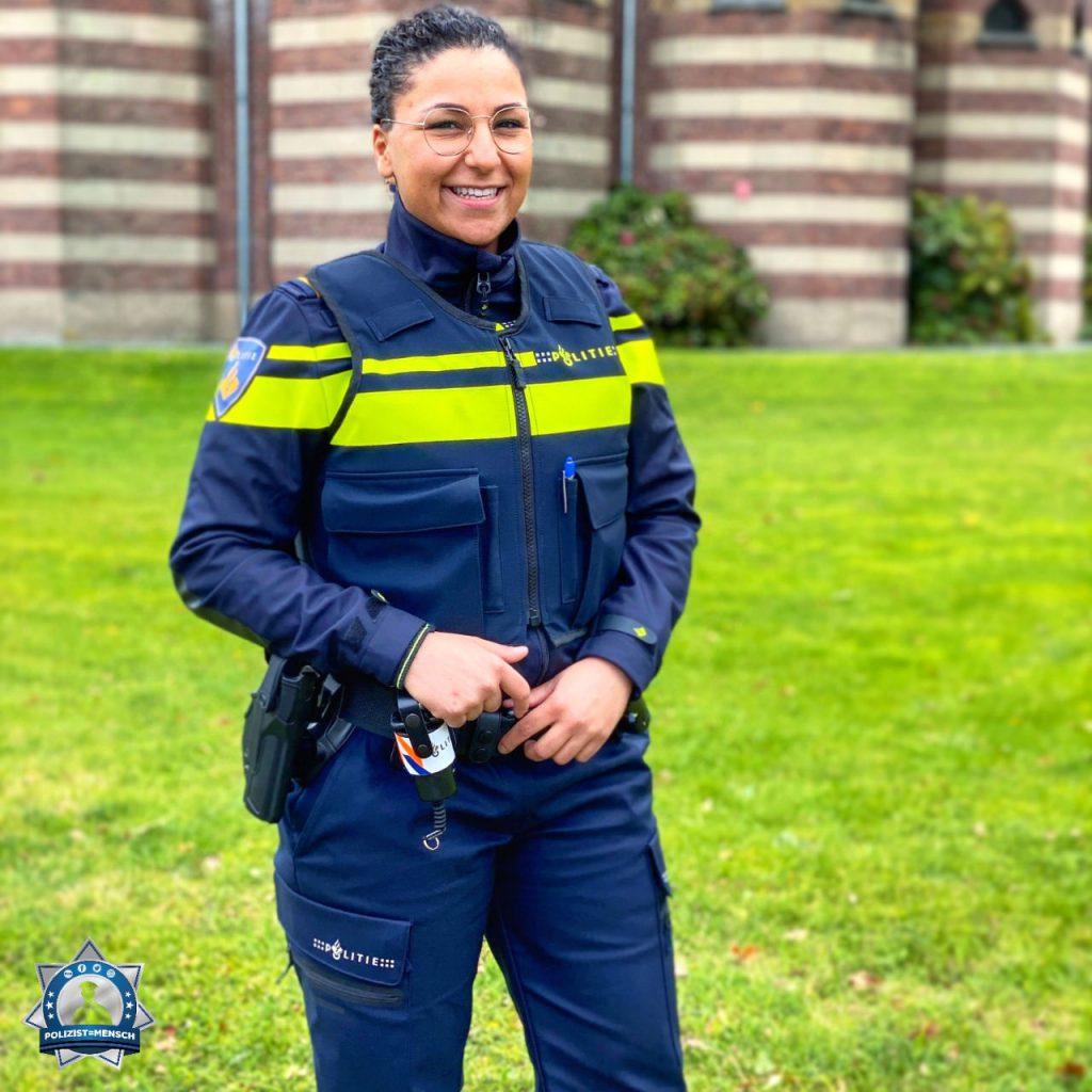 """""""Ich habe eine neue Uniform bekommen und bin stolz darauf! ☺️ Liebe Grüße aus den Niederlanden 💙 Elisha"""""""