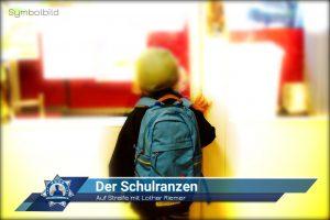 Auf Streife mit Lothar Riemer: Der Schulranzen
