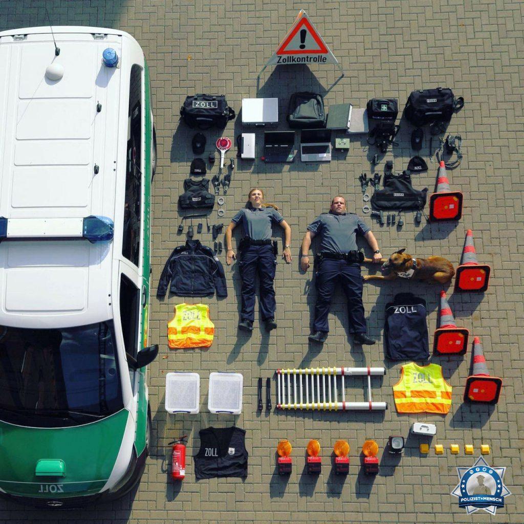 """""""Hallo, nicht nur die Polizei kann die Tetris Challenge, auch der Zoll. Grüße vom Hauptzollamt Braunschweig!"""""""
