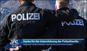 Gedanken eines Polizisten nach einem schlimmen Einsatz: Danke für die Unterstützung der Polizeifamilie
