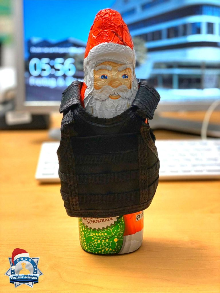 """""""Bei uns ist auch der Nikolaus geschützt 😅 In diesem Sinne ein schönes Wochenende aus Frankfurt am Main, Matthias"""""""