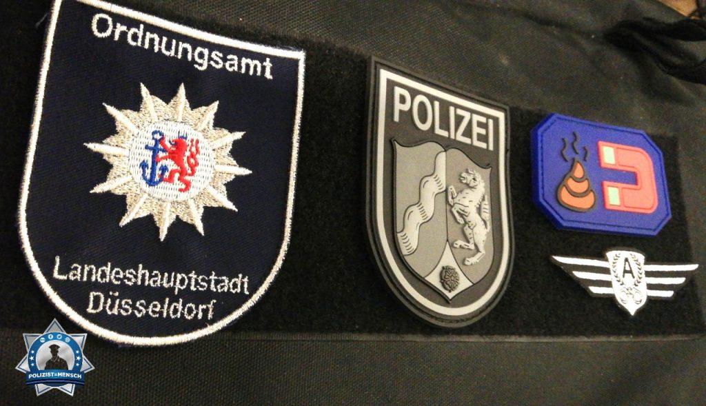 """""""Viele Grüße und einen ruhigen Dienst vom Nachtdienst des Ordnungsamtes der Landeshauptstadt Düsseldorf wünscht André."""""""
