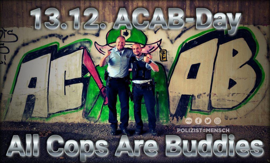 ACAB-Day: So und nicht anders!