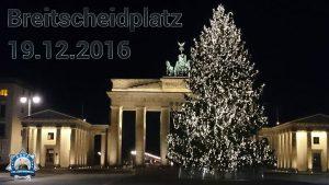Im Gedenken: Breitscheidplatz 19.12.2016