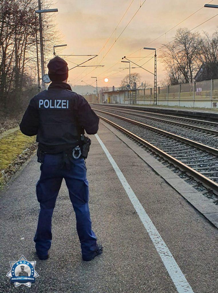 """""""Auf dem Weg zur Nachtschicht. Gruß aus Stuttgart. Marc"""""""