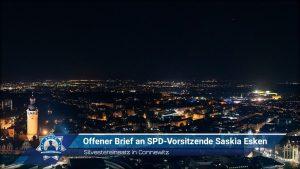 Silvestereinsatz in Connewitz: Offener Brief an SPD-Vorsitzende Saskia Esken
