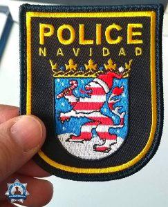 Für Patch-Sammler: Police Navidad