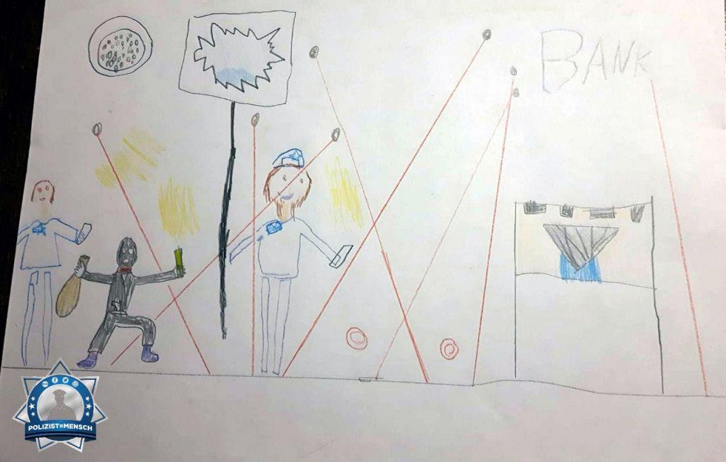 """""""Meine sechsjährige Tochter malt Mama bei der Arbeit ☺️ Tanja"""""""