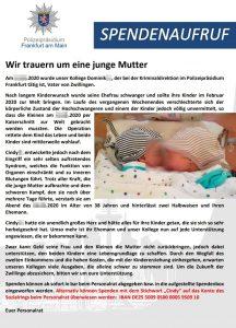 Spendenaufruf: Ehefrau eines Polizisten und Mutter von Zwillingen stirbt nach der Geburt