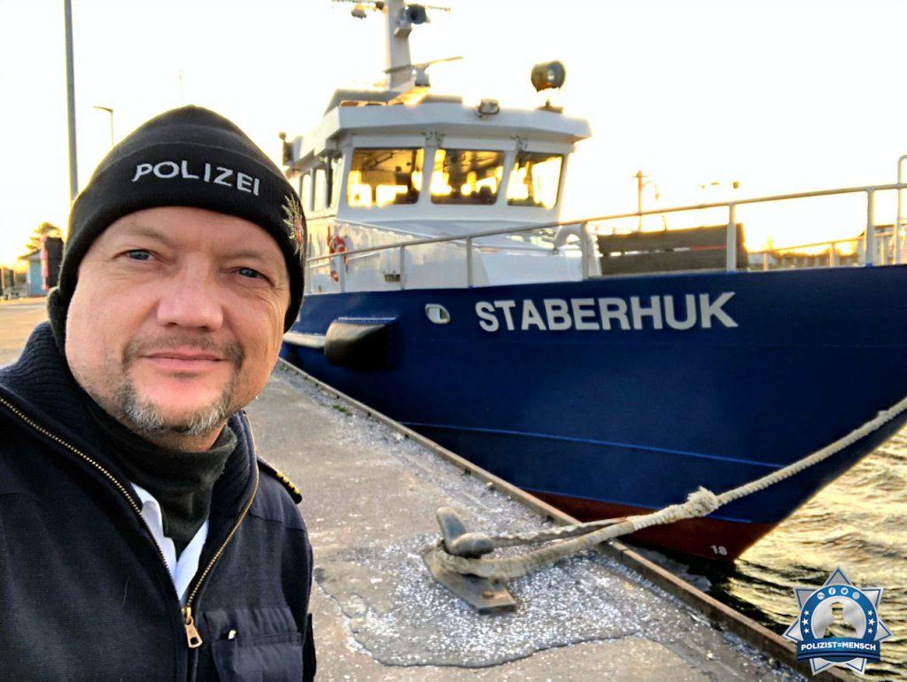 """""""Gleich geht es wieder auf die Ostsee. Gruß von der Wasserschutzpolizei Kiel, Jan"""""""